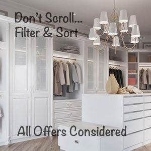 BIG Closet. Please browse!